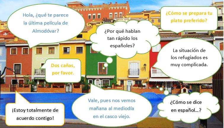Spaanse conversatie cursus